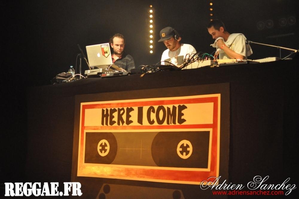 Awakx Sound, soud system Reggae Sud Ouest lors du Here I Come #2. Photographe : Adrien SANCHEZ INFANTE