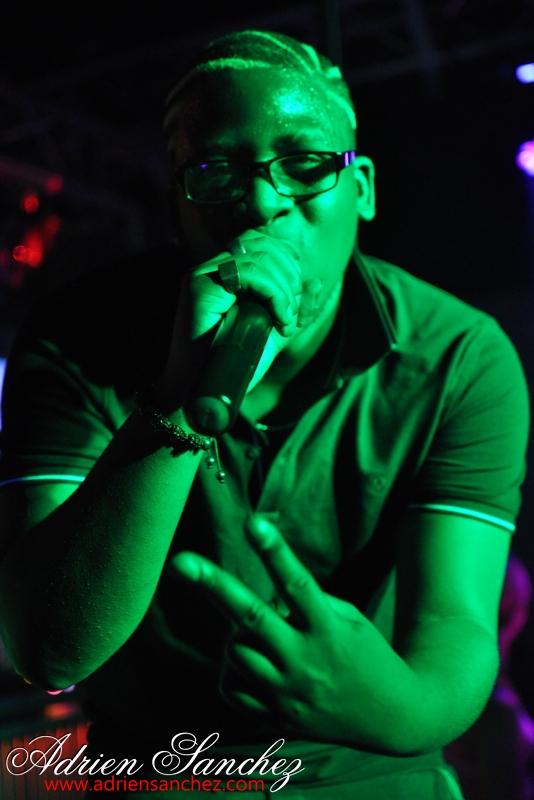 Miky Uno en Showcase au Pacha Plage le 26/10/2013. Photo : Adrien SANCHEZ INFANTE