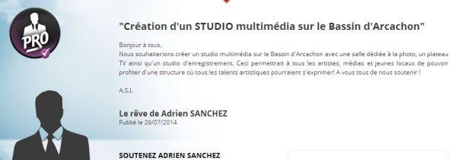 FALLAIT LE FAIRE Projet de Studio Multimédia sur le Bassin d'Arcachon par ADRIEN SANCHEZ