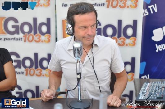 Génération Jeunes Talents sur Gold FM 103.3 FM Samedi 26 Juillet 2014 Rémi Castillo Guillaume Carles Adrien Sanchez Infante Hantcha Alain Llorca Francois Demené Claude Labat Brasserie des Marquises Arcachon (2)