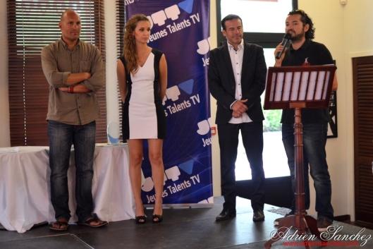 Photo Finale Jeunes Talents du Bassin 2014 Casino Gujan Mestras Le Lodge Rémi Castillo Photographe Adrien Sanchez Infante Vincent Hausseguy Cocci'Vélos (1)