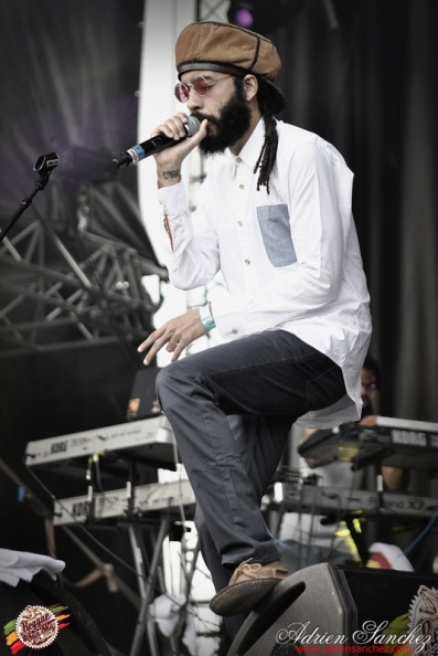 Photo Reggae Sun SKA 2014 Bordeaux RSS17 photographe adrien sanchez infante Protoje The Indiggnation (18)