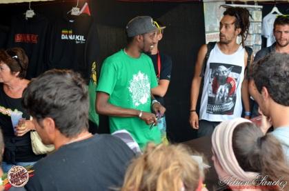 Photo RSS17 Reggae Sun Ska Vendredi 1 Août 2014 Bordeaux Photographe Adrien Sanchez Infante Danakil Dédicaces Balik Natty Jean (2)