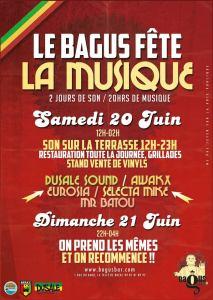 Fête de la Musique 2015 BAGUS BAR