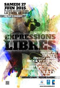 EXPRESSIONS LIBRES 2015