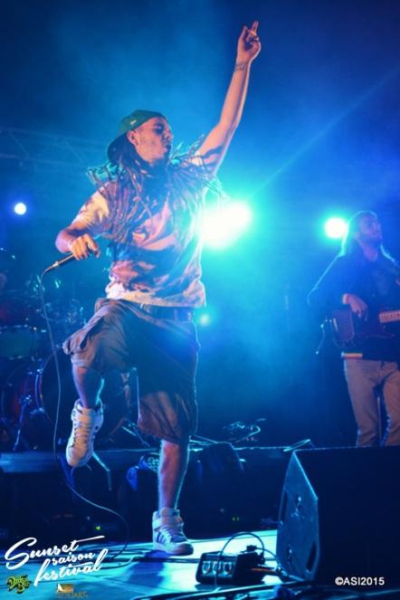 Photo Sunset saison festival 2015 I-Sens the diplomatik's reggae band la teste de buch photographe adrien sanchez infante bassin d'arcachon (41)