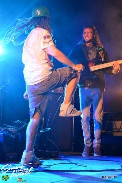 Photo Sunset saison festival 2015 I-Sens the diplomatik's reggae band la teste de buch photographe adrien sanchez infante bassin d'arcachon (42)