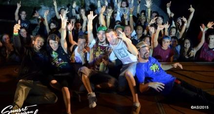 Photo Sunset saison festival 2015 I-Sens the diplomatik's reggae band la teste de buch photographe adrien sanchez infante bassin d'arcachon (69)