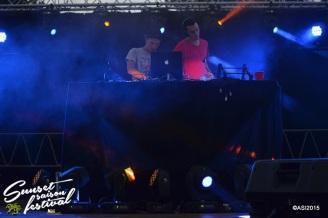 Photo sunset saison festival 2015 la teste de buch rideabar lil'kev seawell electro music adrien sanchez infante photographe bassin d'arcachon