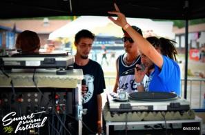 Photo sunset saison festival 2015 la teste de buch rideabar Youth Legacy sound system reggae dub adrien sanchez infante photographe bassin d'arcachon (14)