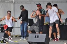 Photo Sunset saison festival 2015 l'escale tropicale ovakoum dyami jouvence tourne l'oeil rap la teste de buch photographe adrien sanchez infante bassin d'arcachon (40)