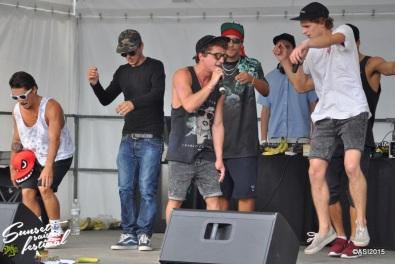 Photo Sunset saison festival 2015 l'escale tropicale ovakoum dyami jouvence tourne l'oeil rap la teste de buch photographe adrien sanchez infante bassin d'arcachon (41)