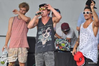 Photo Sunset saison festival 2015 l'escale tropicale ovakoum dyami jouvence tourne l'oeil rap la teste de buch photographe adrien sanchez infante bassin d'arcachon (46)
