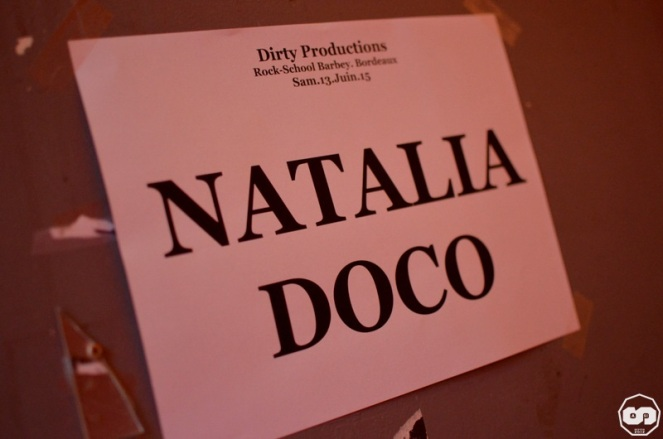 Natalia Doco Rock School Barbey Bordeaux