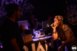 Sara Lugo & Supa Mana au Bagus Bar