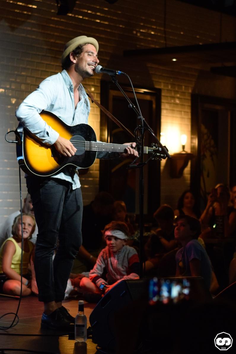 Photo Laurent Lamarca Pub Mira Music Adrien Sanchez Infante Maria Jimenez Cardalliaguet Juillet 2018 (5)