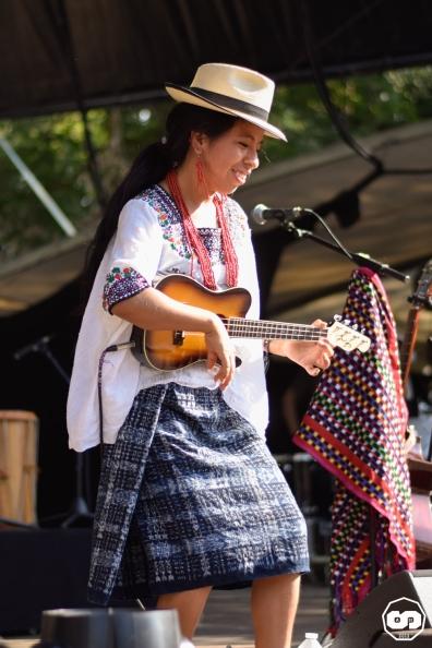 Photo Musicalarue 2018 Festival Luxey Adrien Sanchez Infante Maria J Cardalliaguet Mariflie Sara Curruchich (1)